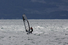 Vevey: Wind surfer