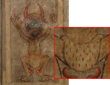excerpt from Codex Gigas