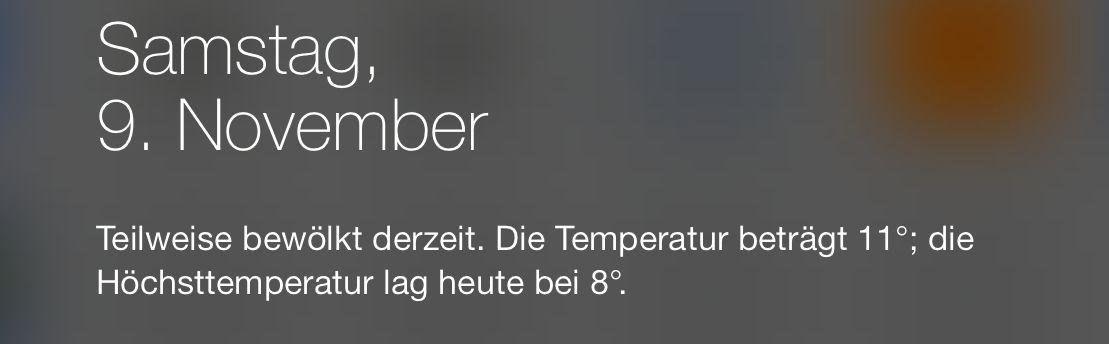 Höchsttemperatur?