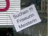 Suchen!!! Friseurin, Meisterin