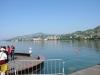 Der See bei der Schiffslände, wo die Registrierung der FMMMD-Teilnehmer stattfand.