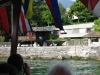 Bootsfahrt zum Lake House.