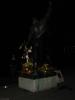 Nachts bei Freddies Statue.