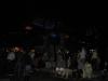 Gegen Mitternacht bei Freddies Statue