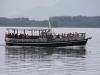 Das Boot zur Lake-House-Besichtigung.