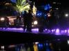 Nachts bei Freddies Statue