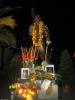 Freddies Statue bei Nacht am Freitag. Naja, eigentlich schon Samstag...