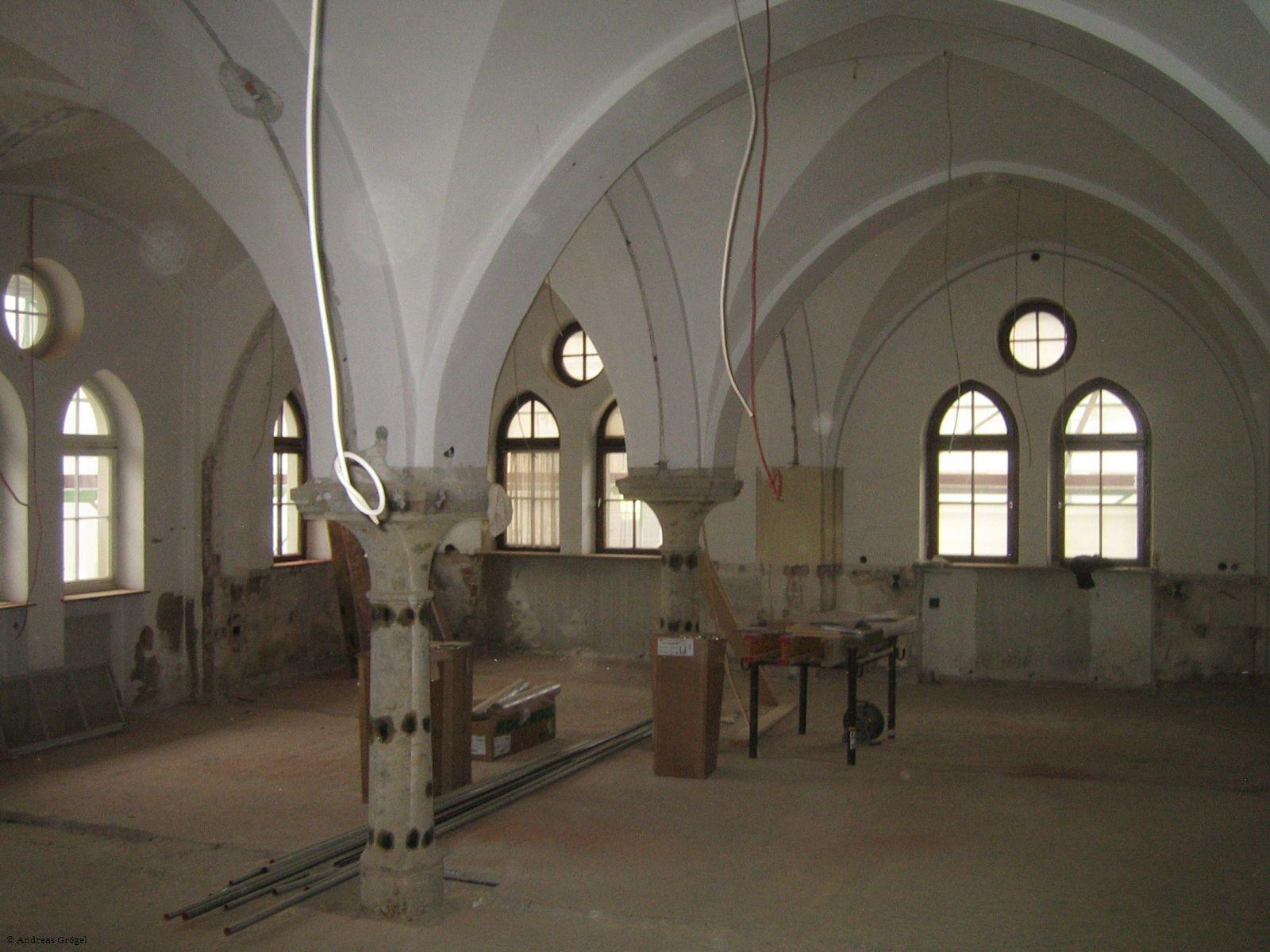 Rathaus-Baustelle Halle