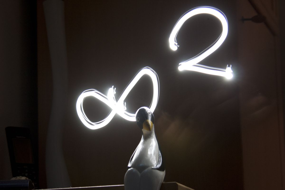 42/44: Magic with Numbers, Flashlight Art