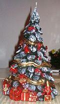 Weihnachtsbaumkerze