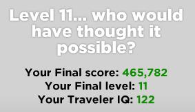 Traveler IQ Challenge 122 (klein)