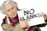 NO BLANKS!