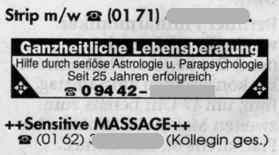 Strip m/w -- Sensitive Massage