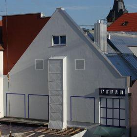 Haus mit Rüssel