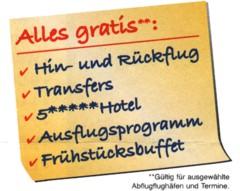 Hörzu-Reise: Alles gratis**