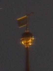 goldene Turmspitze (Detail)