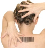 Barcode on back