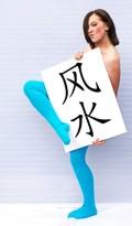 Feng-Shui-Schild