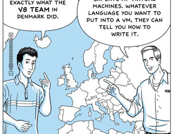 Google Chrome Comic p.13 map of Europe