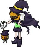 Halloween-Hexe