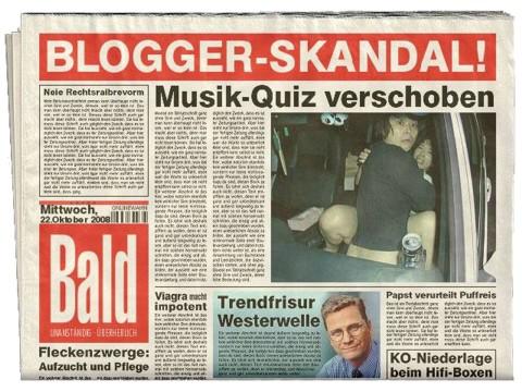 Skandal-Zeitung