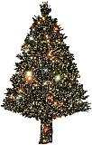Hubble-Weihnachtsbaum