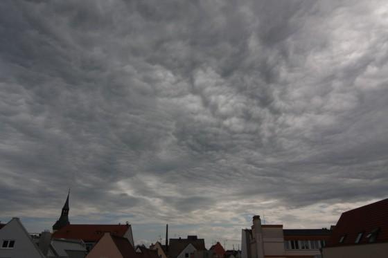 runzlige Wolken (Original)