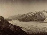 Aletschgletscher ca. 1880