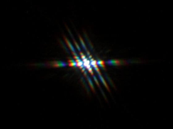 Jupiter im Fliegengitter 2