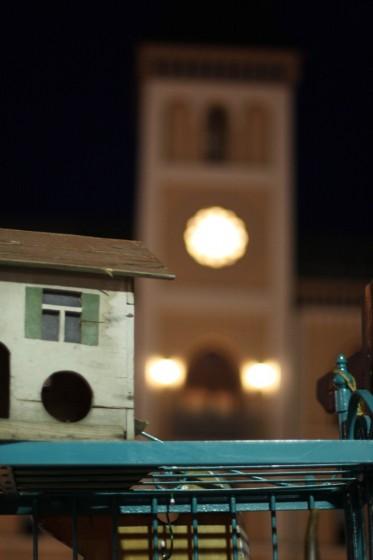 Rathausturm und Regal