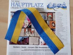 Hauptplatz-Eröffnung: mein Band-Stück