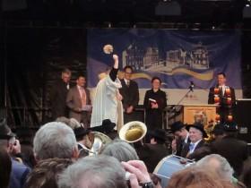 Hauptplatz-Eröffnung: Segnung