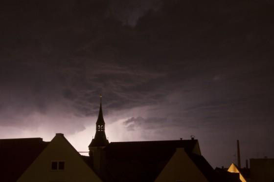 Blitze am Mittwoch 1