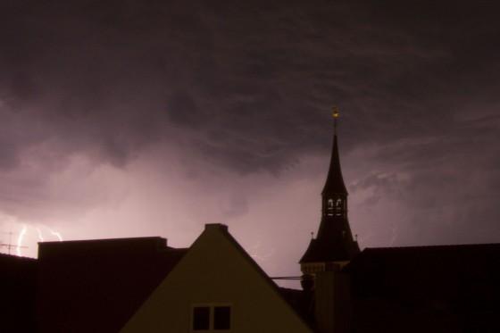 Blitze am Mittwoch 2
