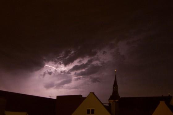 Blitze am Mittwoch 3