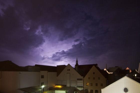 Blitze am Mittwoch 4