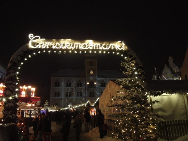 Christkindlmarkt-Eingang