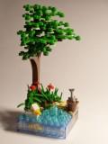 Fisherman vignette
