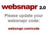 Websnapr 2.0 Please update your websnapr code: websnapr.com/code