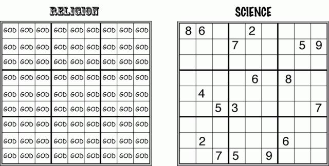 Religion: Sudoku Edition