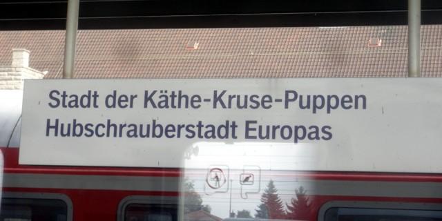 Stadt der Käthe-Kruse-Puppen, Hubschrauberstadt Europas