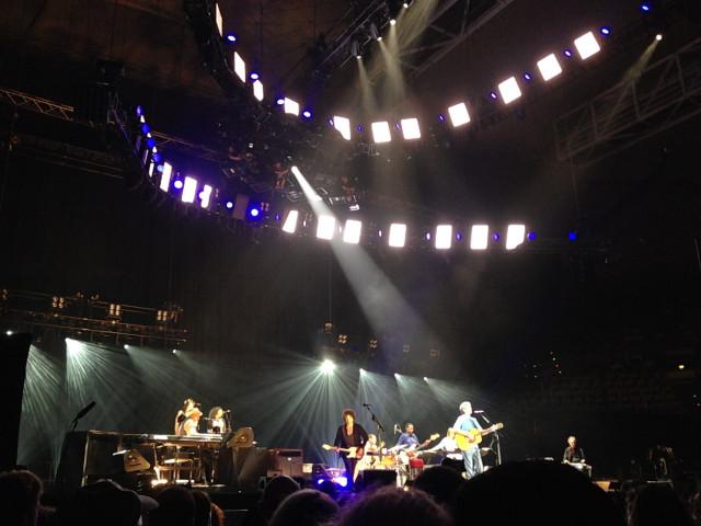 Eric Clapton und Band