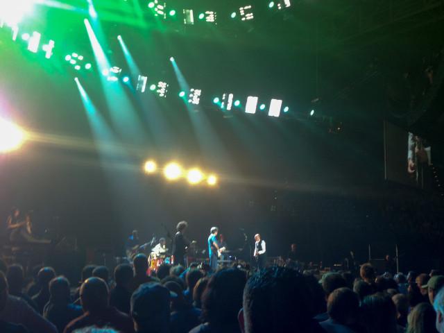 Eric Clapton und Band, mit Andy Fairweather Low