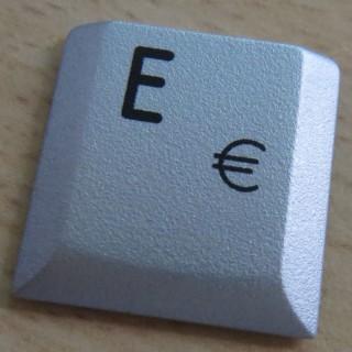 eine einzelne E-Taste