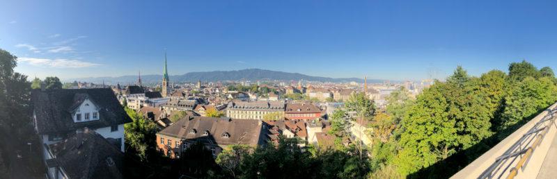 Zürich-Panorama von der ETH aus