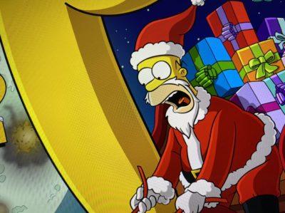 Homer Santa